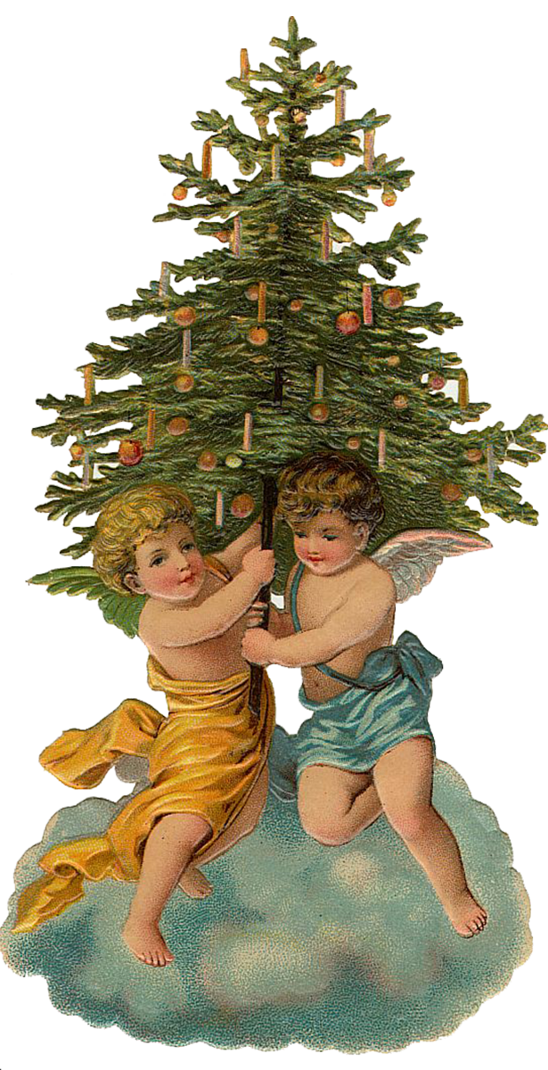Victorian christmas tree clipart banner transparent download Holiday Archives - Page 2 of 7 - The Graffical Muse banner transparent download