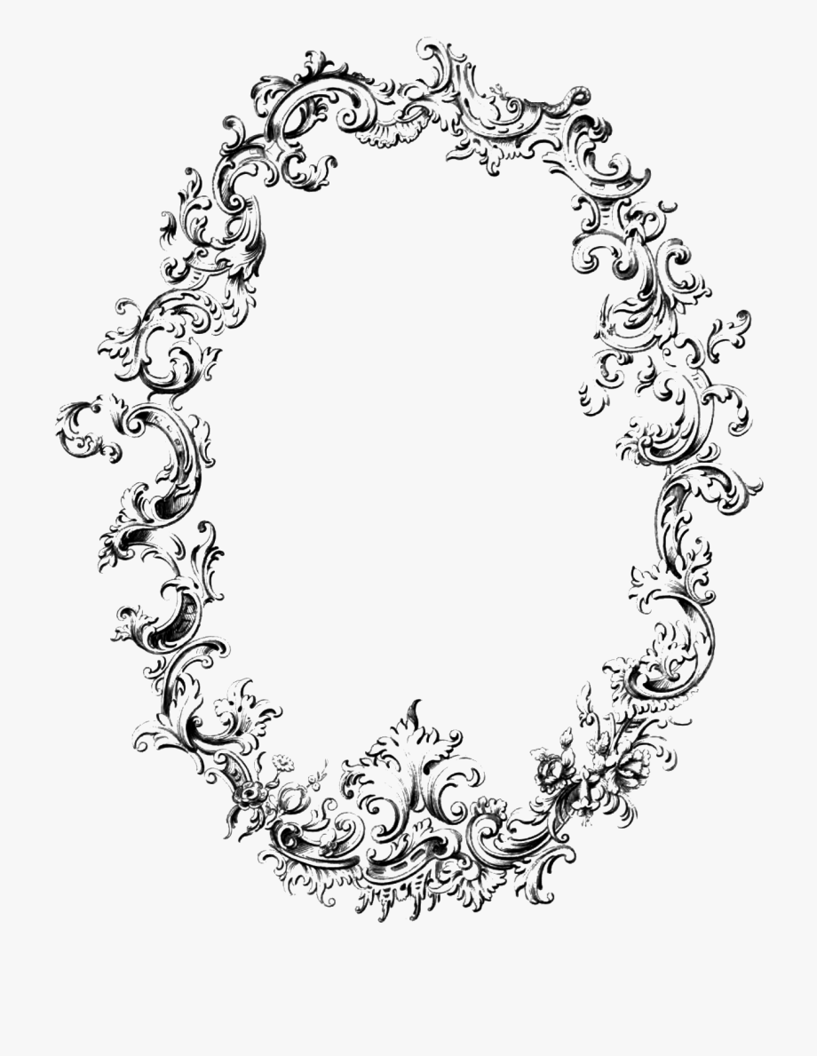 Victorian clipart bracket black svg royalty free library 19 Victorian Oval Frame Image Freeuse Huge Freebie ... svg royalty free library