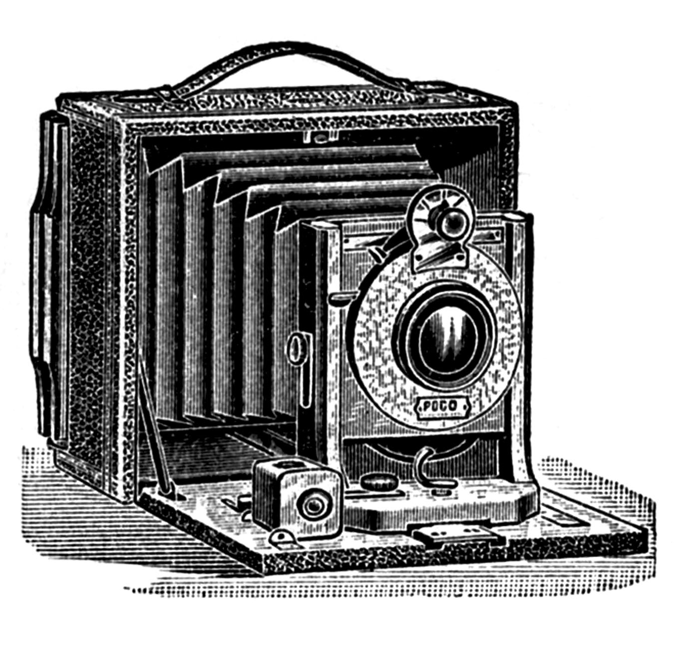 Old time camera clipart image royalty free download Antique Pictures - Camera, Stereoscope, Ear Trumpet - The ... image royalty free download