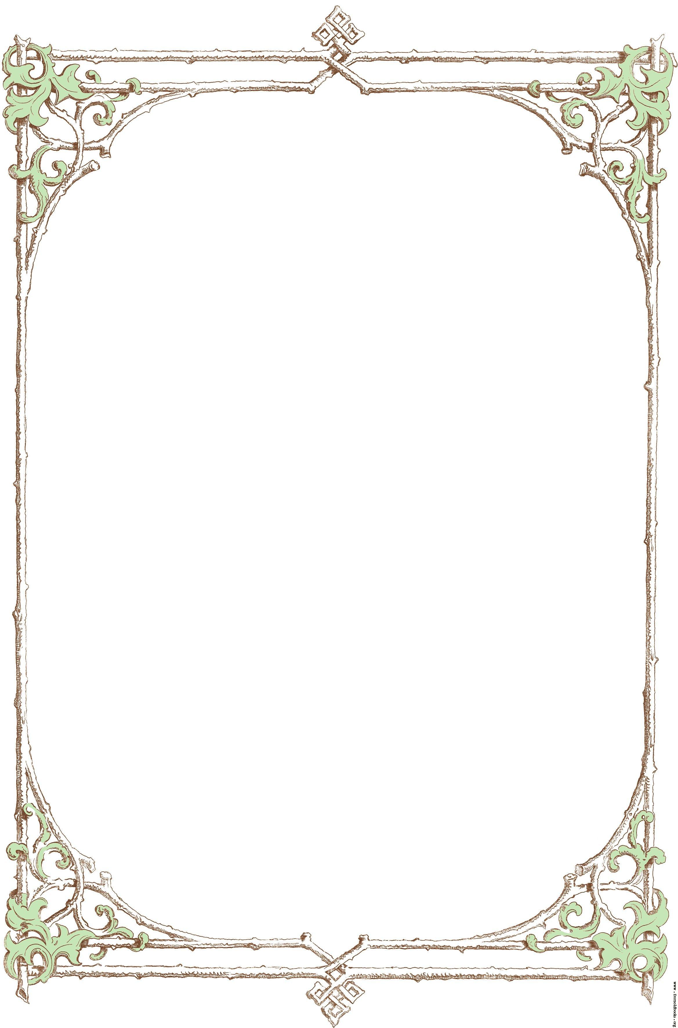 Victorian clipart free decorative picture Free Victorian Frame Cliparts, Download Free Clip Art, Free ... picture