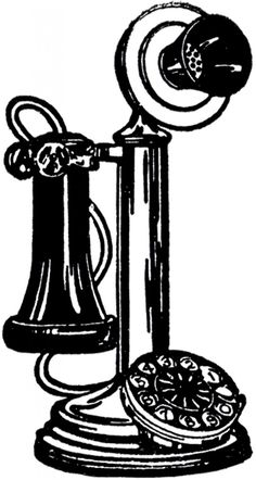 Victorian clipart telephone png library 227 Best Vintage Clip Art, Images, and Printables images in ... png library