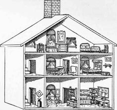 Victorian doll house clipart jpg free 76 Best DOLL HOUSE images in 2016   Child, Dollhouses ... jpg free