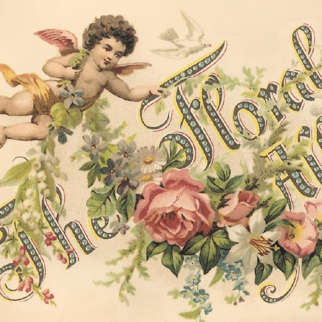 Victorian floral images svg library download Victorian FLORAL ALBUM * Cherubs & Flowers | Our Cottage Garden svg library download