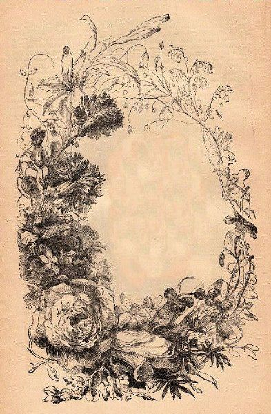 Victorian floral images vector royalty free download Victorian Floral Frame | Graphics, Flower and Leg tattoos vector royalty free download