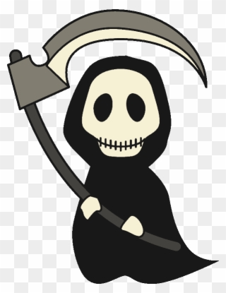Victorian grim reaper clipart black and white stock Free PNG Reaper Clip Art Download - PinClipart black and white stock