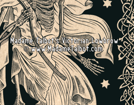 Victorian grim reaper clipart graphic download Madame Talbot\'s Victorian Lowbrow - The Grim Reaper Poster graphic download