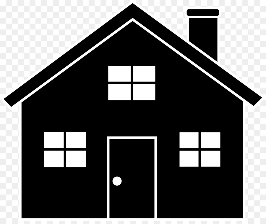 Victorian house silhouette clipart image transparent library Victorian house Silhouette Clip art - chimney png download ... image transparent library