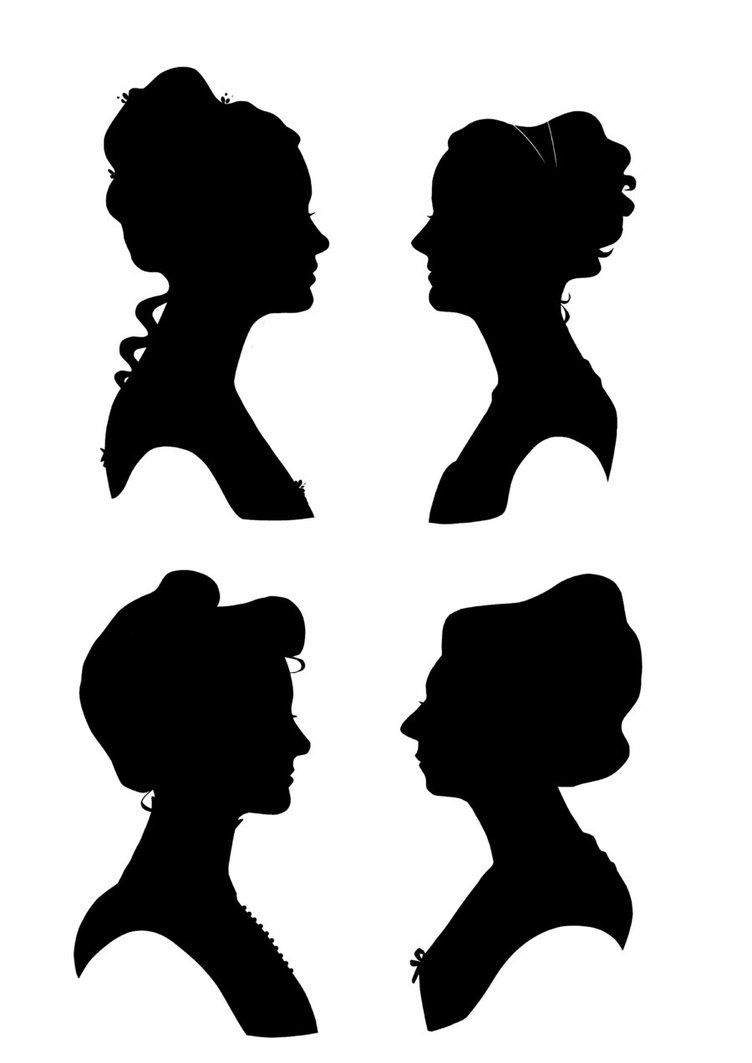 Victorian house silhouette clipart freeuse All the ladies of the house. Georgian, Victorian, Regency ... freeuse