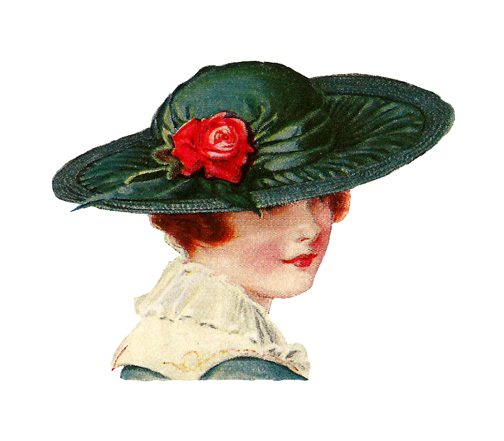 Victorian ladies hats clipart vector freeuse download Free Womens Hats Cliparts, Download Free Clip Art, Free Clip ... vector freeuse download