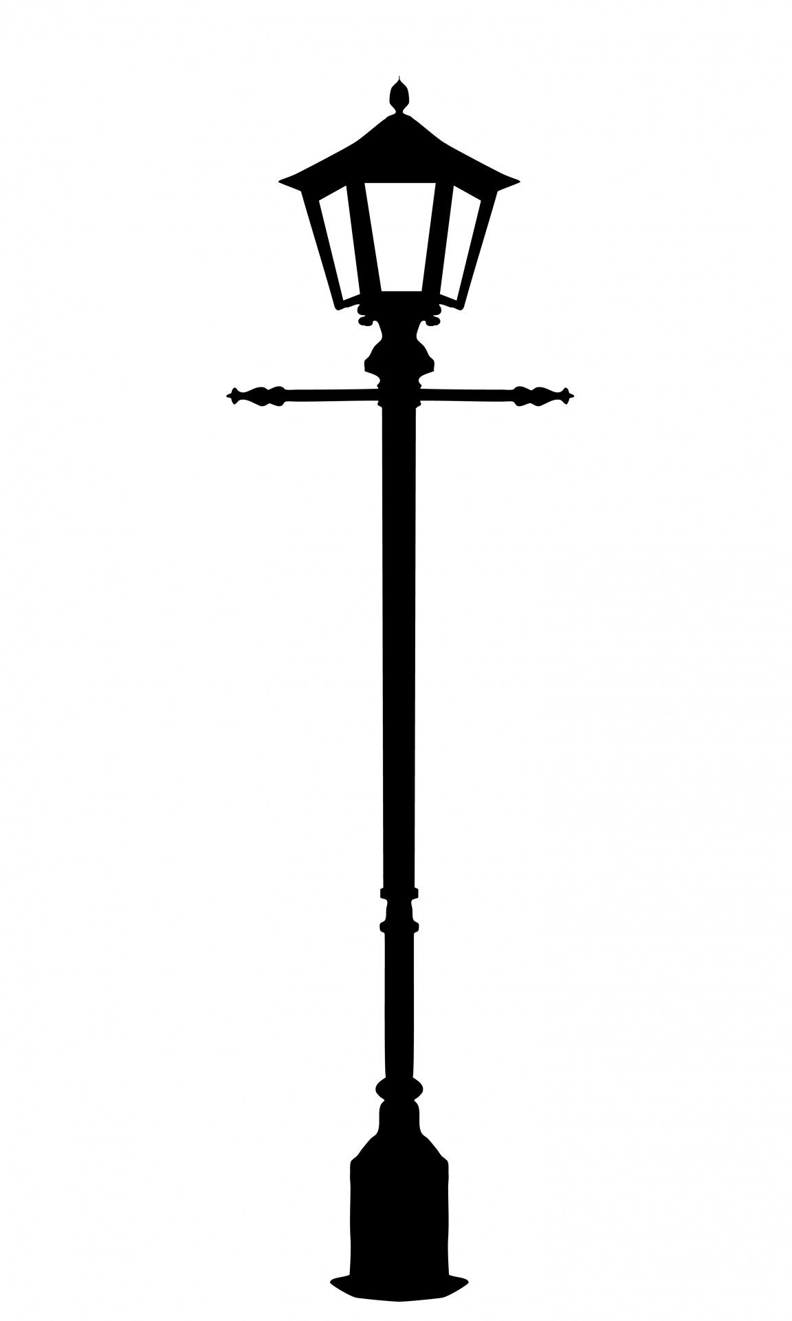 Victorian lamp post clipart vector transparent download Vintage Street Lighting Clipart | body art in 2019 | Clip ... vector transparent download
