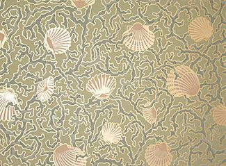Victorian shell wall paper clipart graphic free Wallpaper for Walls Designs | ... wallpaper designs this is ... graphic free