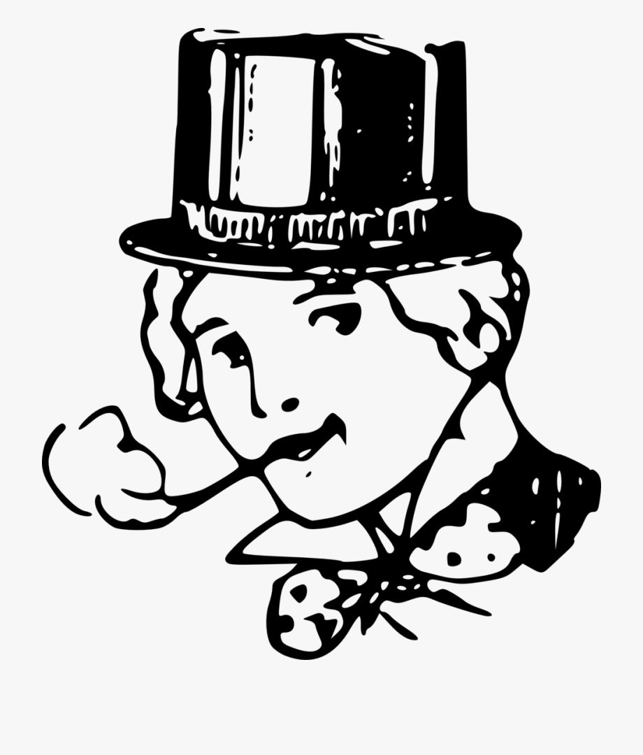 Victorian smoking stick clipart picture Girl With Top Hat, Smoking - Gambar Orang Merokok Pakai Topi ... picture