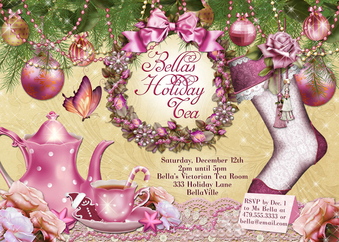 Victorian tea clipart christmas image 38 Upscale Christmas Tea Party Ideas That Are Simply ... image