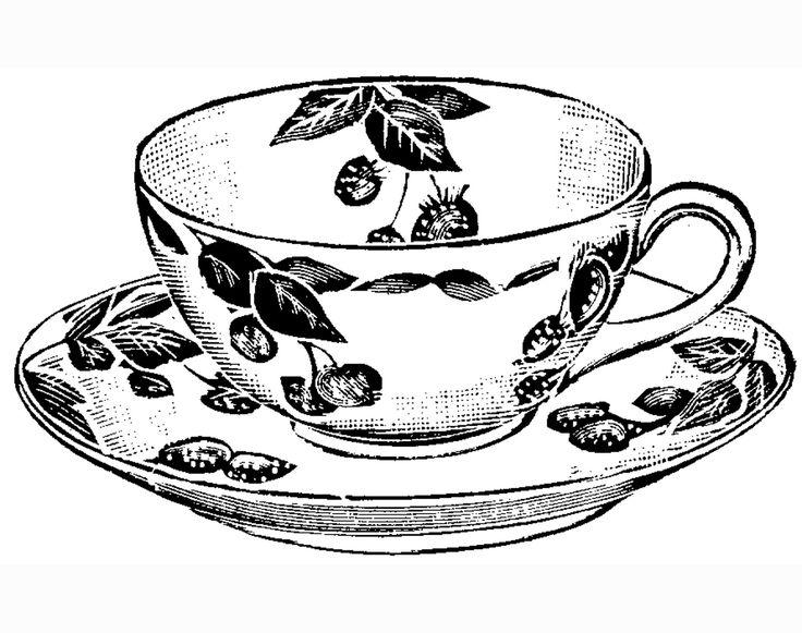 Vintage teacup clipart clipart free download Vintage Tea Cup Clipart | Free download best Vintage Tea Cup ... clipart free download
