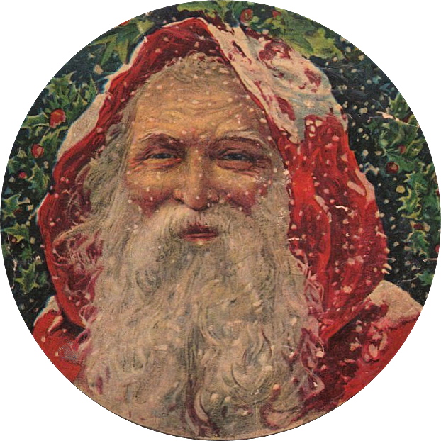 Victorian thanksgiving clipart free png library Amazing Victorian Graphic - Santa! - The Graphics Fairy png library