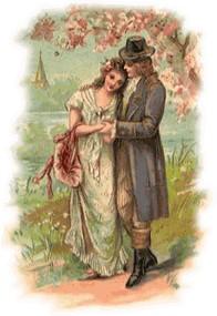 Victorian valentine clipart picture transparent Victorian valentine clipart - ClipartFest picture transparent