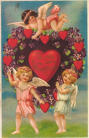 Victorian valentine clipart transparent library Free Clip Art from Vintage Holiday Crafts » Blog Archive » Free ... transparent library