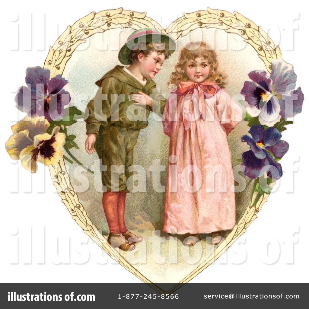Victorian valentine clipart jpg black and white download Victorian Valentine Clipart #28819 - Illustration by OldPixels jpg black and white download