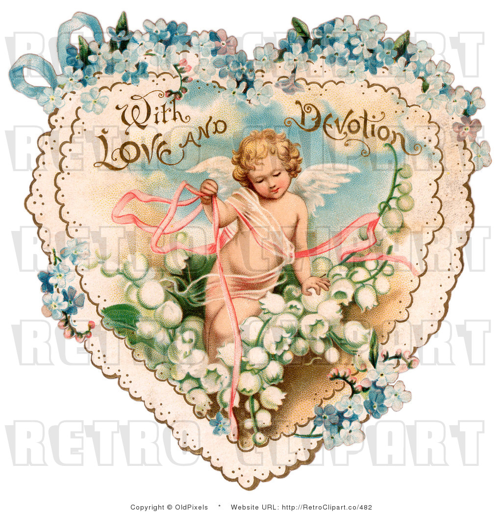 Victorian valentine clipart clip art black and white stock Vintage Victorian Valentine Clipart - Clipart Kid clip art black and white stock