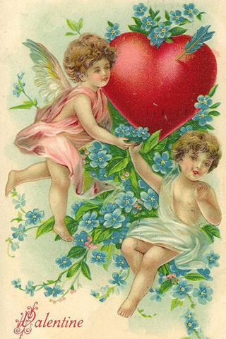 Victorian valentine clipart image library Free Clip Art from Vintage Holiday Crafts » Blog Archive » Free ... image library