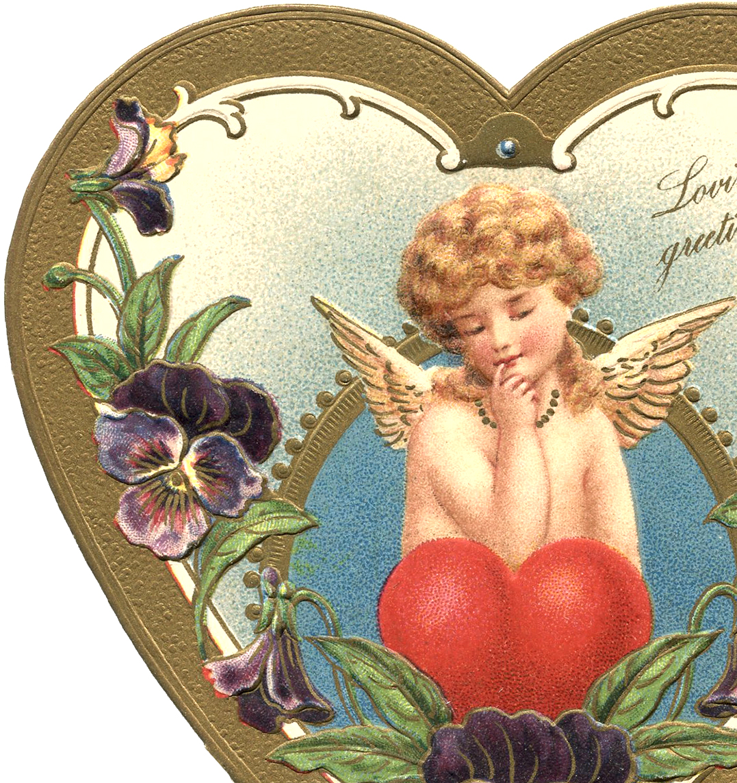 Victorian valentine clipart svg free download Victorian Valentine Image - The Graphics Fairy svg free download