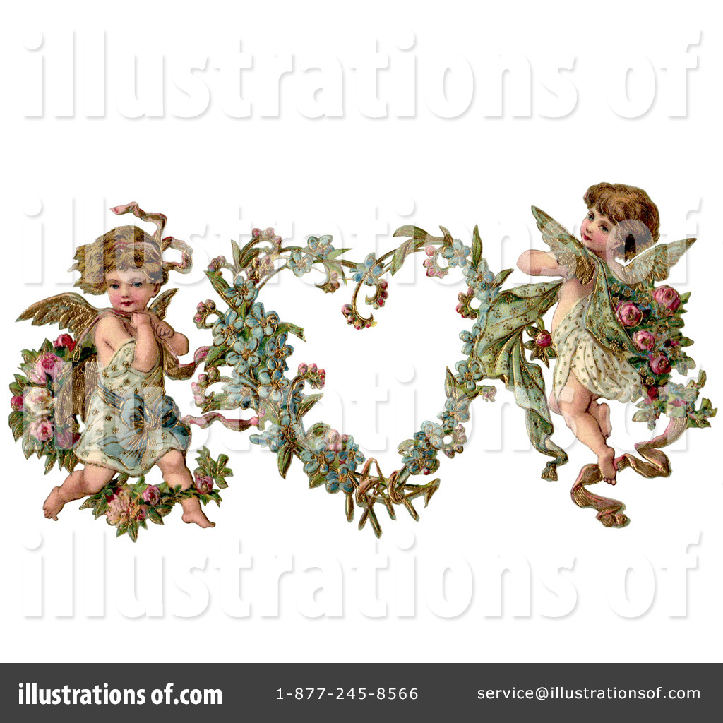 Victorian valentine clipart vector freeuse stock Victorian Valentine Clipart #28867 - Illustration by OldPixels vector freeuse stock