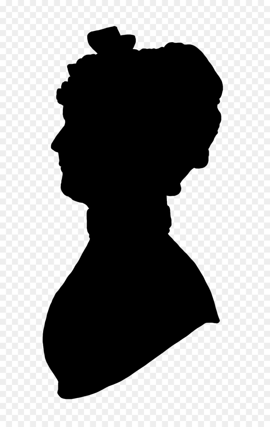 Victorian woman kissing clipart svg black and white download Woman Cartoon clipart - Woman, transparent clip art svg black and white download