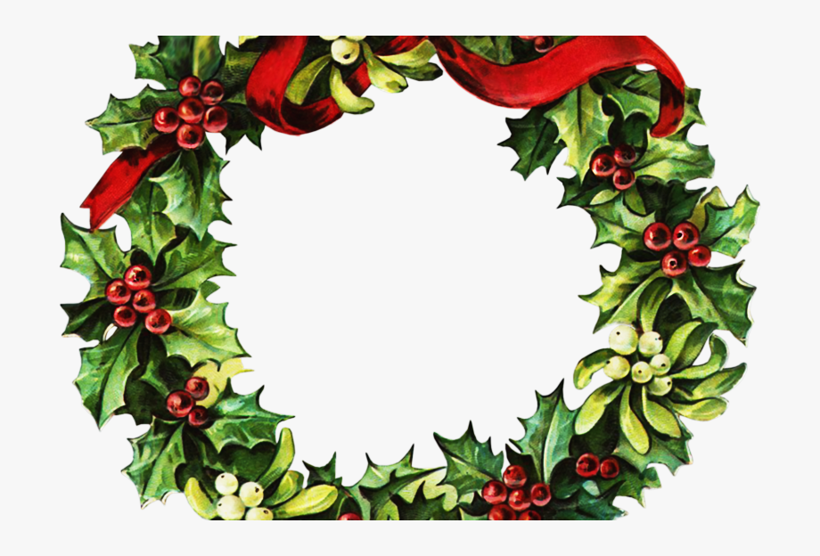 Victorian wreath clipart picture transparent download Free Clip Art Christmas Wreath Clipartplace Victorian ... picture transparent download