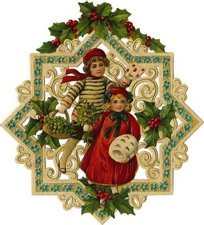 Victorian xmas free clipart picture download AltogetherChristmas.com: Vintage Christmas Clipart and Graphics picture download