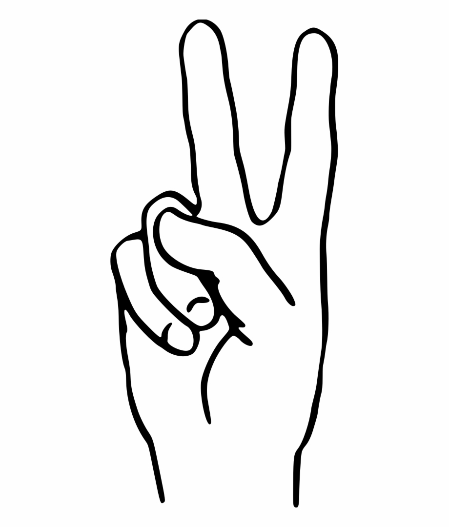 Victory sign clipart graphic free V For Victory - Free Clip Art Victory Sign Free PNG Images ... graphic free