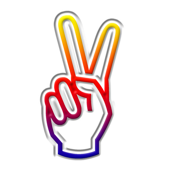 Victory sign clipart svg free stock Victory Sign 4: Winning Symbol | Clipart Panda - Free ... svg free stock