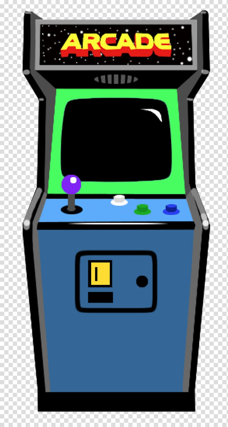 Video arcade border clipart vector library stock Blue and green arcade machine illustration, Retro Arcade ... vector library stock