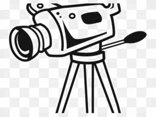 Video camera clipart jpeg image black and white stock Photo Camera Clipart Jpeg - Video Camera Drawing - Png ... image black and white stock