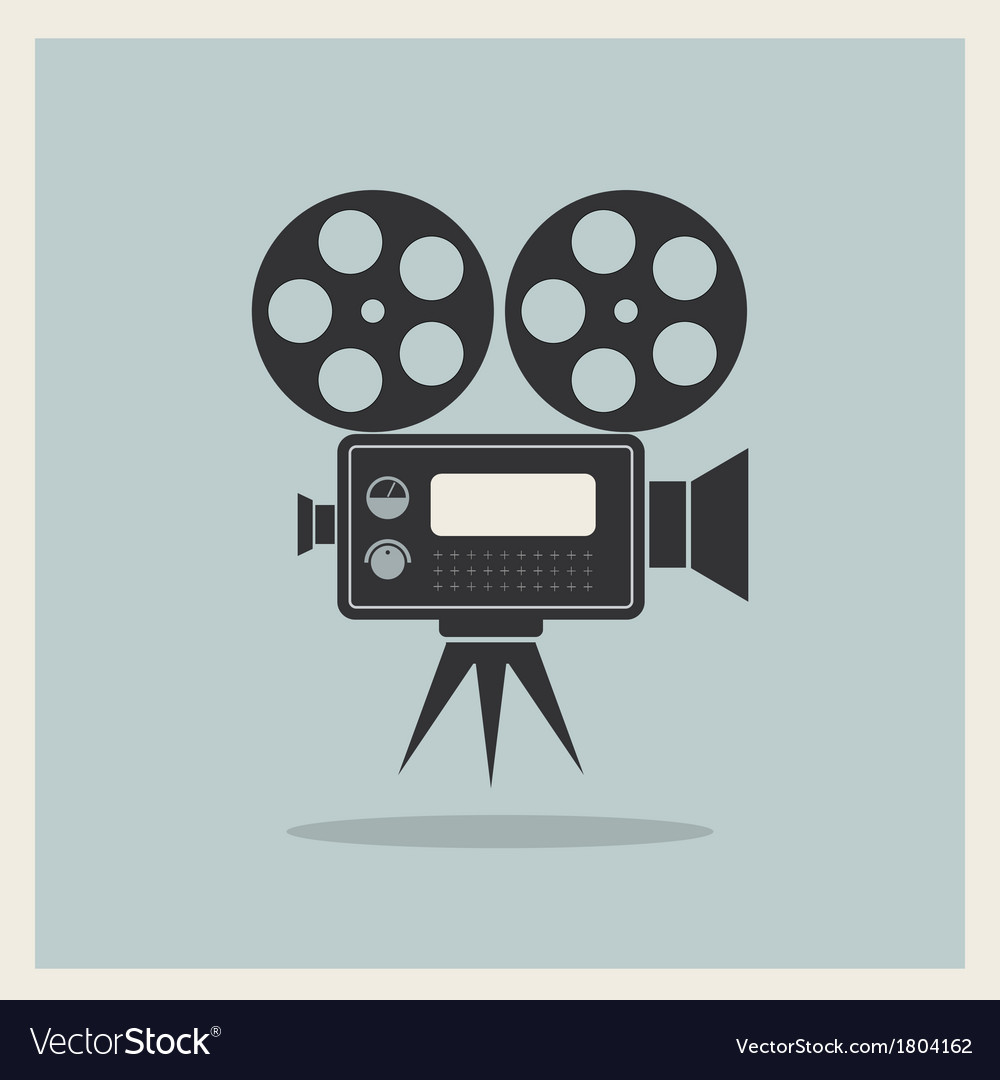 Vintage movie camera free clipart clip art free Video Movie Camera on Retro Background clip art free
