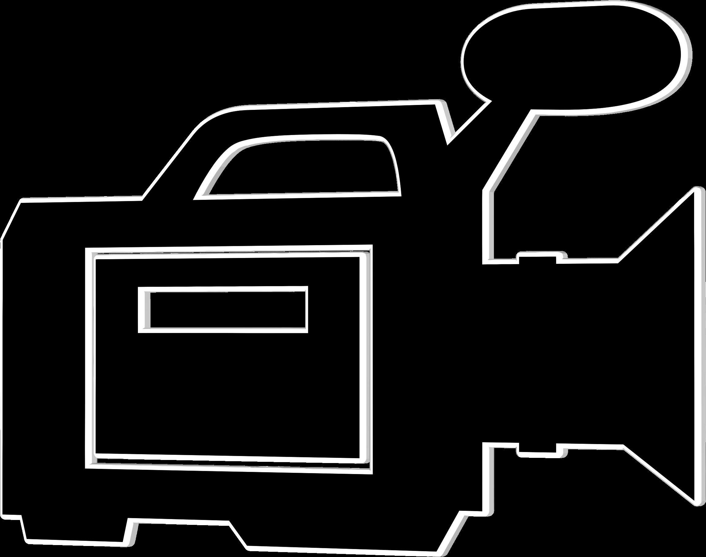 Video camera logo clipart png transparent Video camera canon camera logo clipart kid - FamClipart png transparent