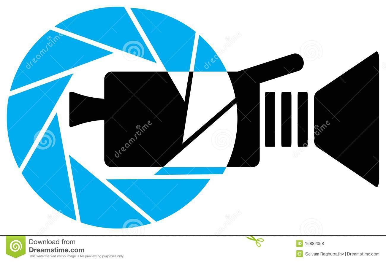 Video camera logo clipart clipart royalty free Video Camera Logo Royalty Free Stock Photos - Image: 16882058 clipart royalty free