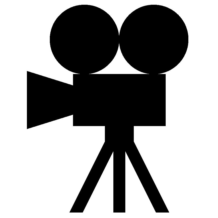 Video camera logo clipart jpg black and white library Video Camera Logo - ClipArt Best jpg black and white library