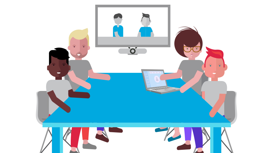 Video conference room clipart clip art library Huddle room vc - Video Conferencing Daily clip art library