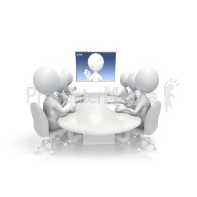 Video conference room clipart image black and white library Video Conference - Science and Technology - Great Clipart ... image black and white library