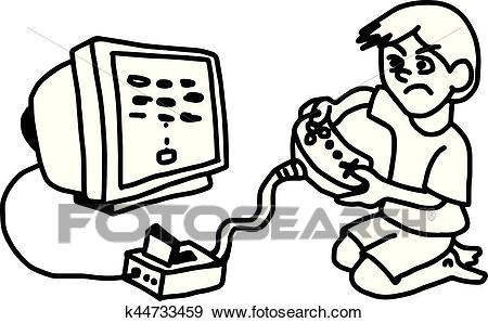 Video game clipart black and white image library stock Video Game Clipart Black And White (88+ images in Collection ... image library stock