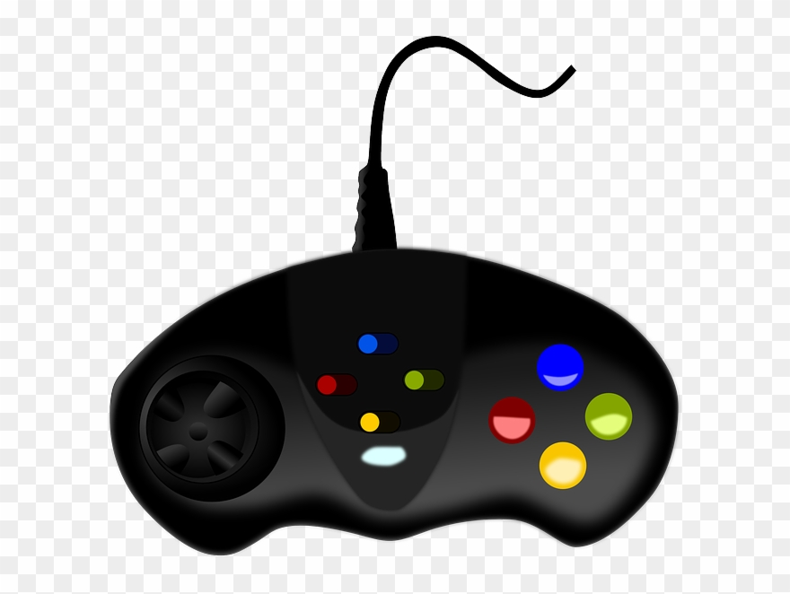 Video game clipart pc svg black and white library Controller Clipart Pc Game - Video Game Controllers Png ... svg black and white library