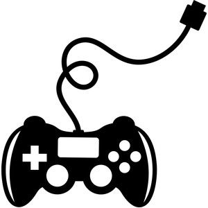 Video game controller silhouette clipart png transparent library Video game control | SVG / Die Cutting | Silhouette design ... png transparent library