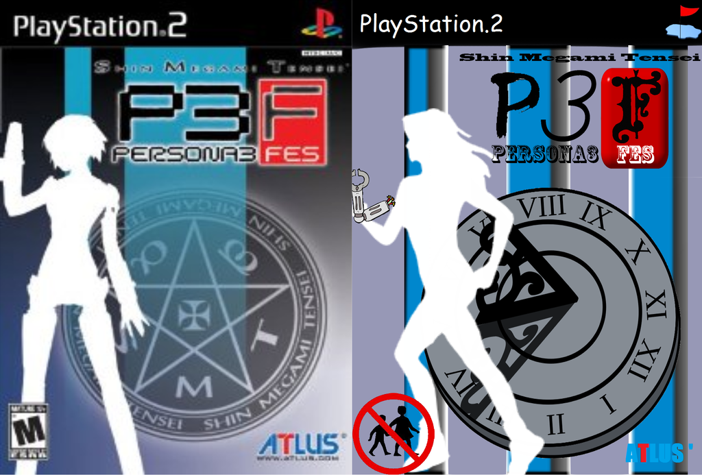 Video game cover clipart clip art library stock Video Game Cover Clip Art: Persona 3 FES by Xazkid on DeviantArt clip art library stock