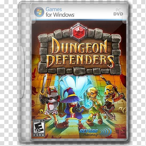 Video game dvd clipart svg freeuse library PC DVD Dungeon Defenders cover screenshot, pc game video ... svg freeuse library