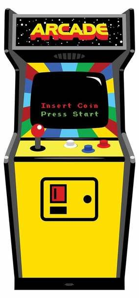 Video game machine clipart jpg library stock 1980s Colour Video Arcade Game Cardboard Cutout / Standup ... jpg library stock