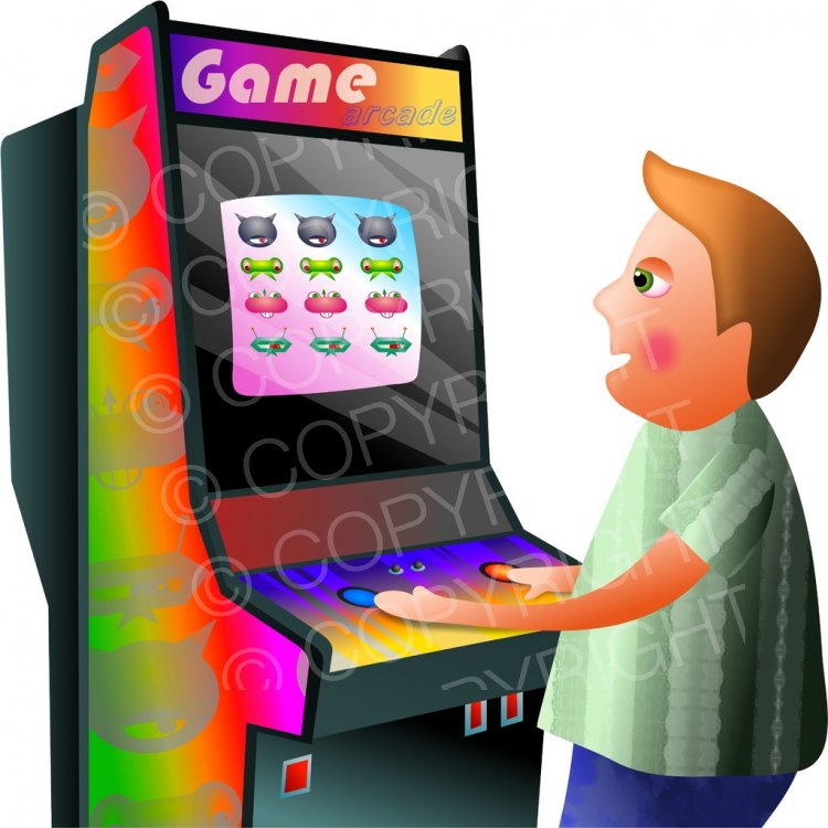 Video game machine clipart graphic Video Arcade Game Boy Prawny Clip Art People – Prawny ... graphic