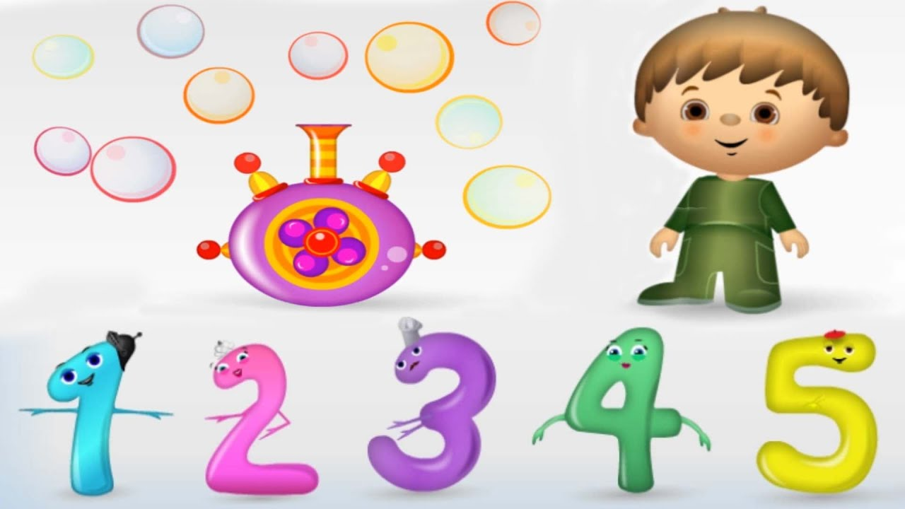Kids learning numbers clipart clip art royalty free library Numbers for Kids, Counting 1 to 10, Fun Math Game, Learning Videos for  Children, Preschoolers clip art royalty free library