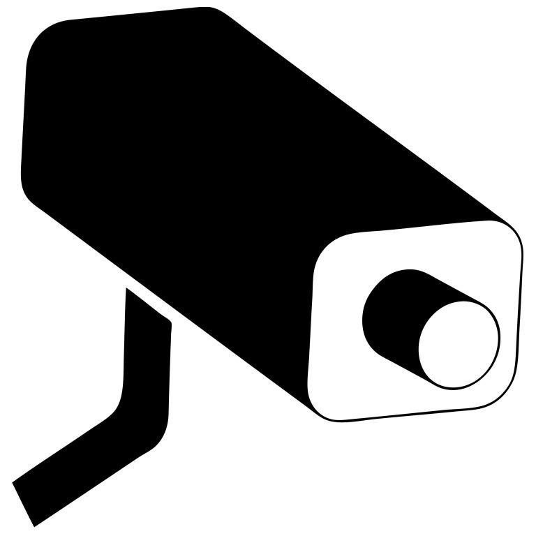 Video surveillance camera clipart picture black and white stock Video Camera Clipart Free Video Surveillance Camera Clipart ... picture black and white stock