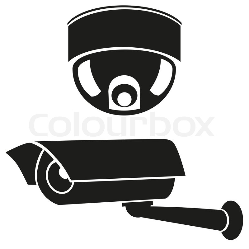 Video surveillance camera clipart free jpg free stock Dome Security Camera Icon #121849 - Free Icons Library jpg free stock