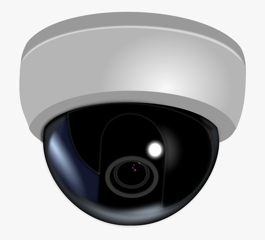 Video surveillance camera clipart free banner free download Clipart Camera Video Camera - Dome Cctv Camera Png #161485 ... banner free download